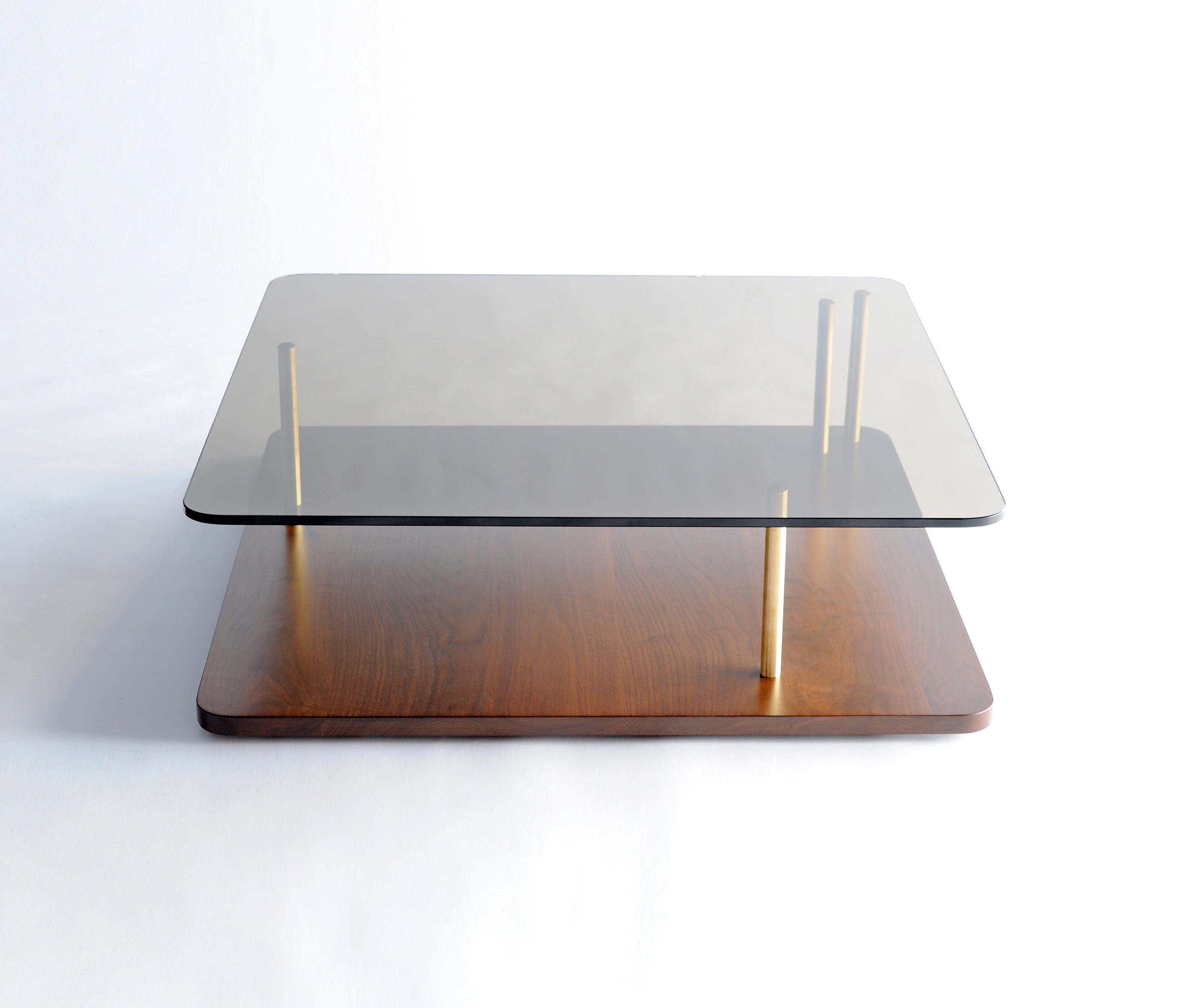 points of interest coffee table wood