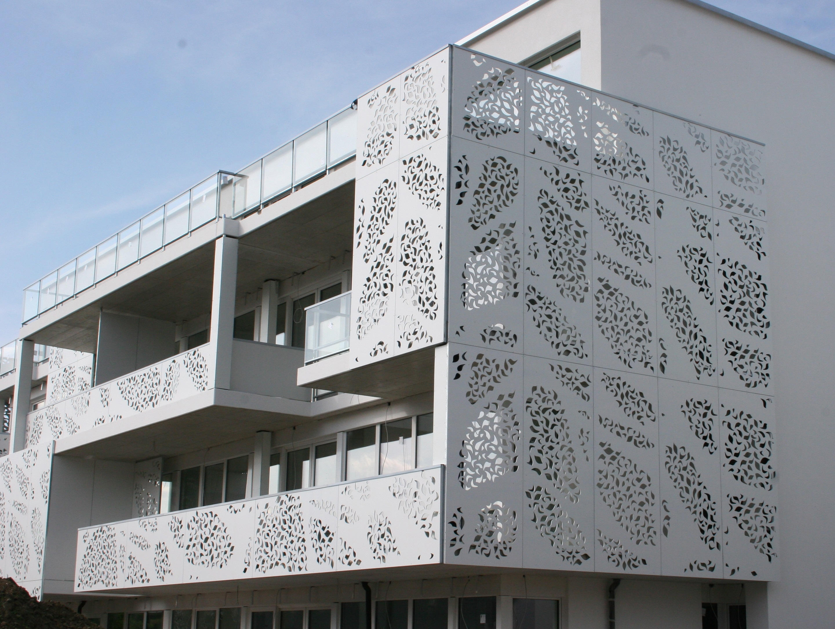 Perforated Building Facades