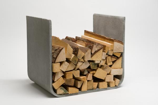 Wood Fireplace Log Holder