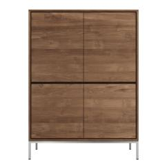 Teak Kitchen Cabinets Backsplash Photos Essential Storage Cupboard From Ethnicraft