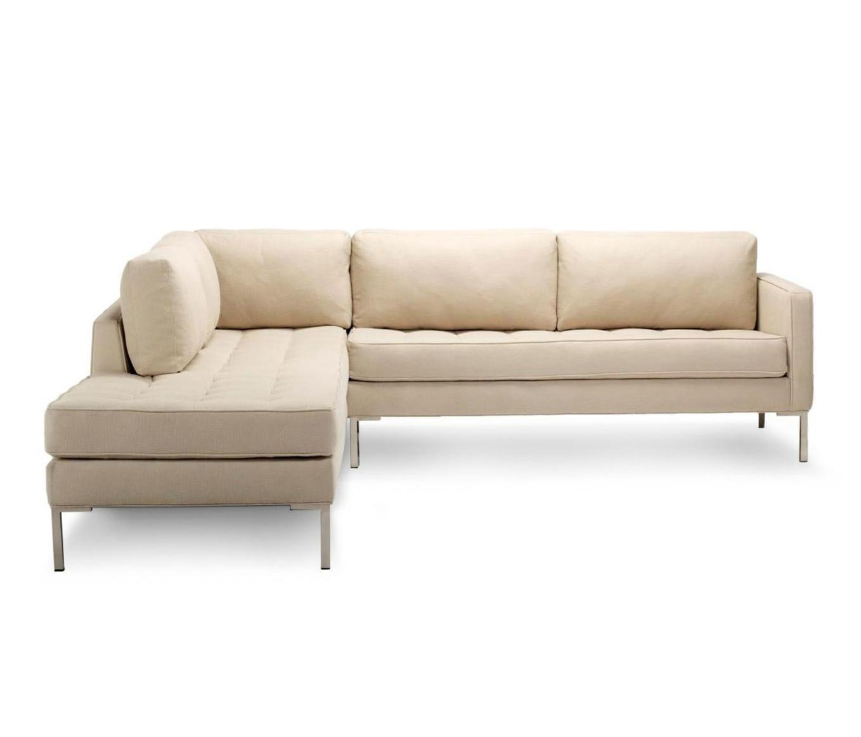 paramount sofa new set left sectional divani blu dot architonic