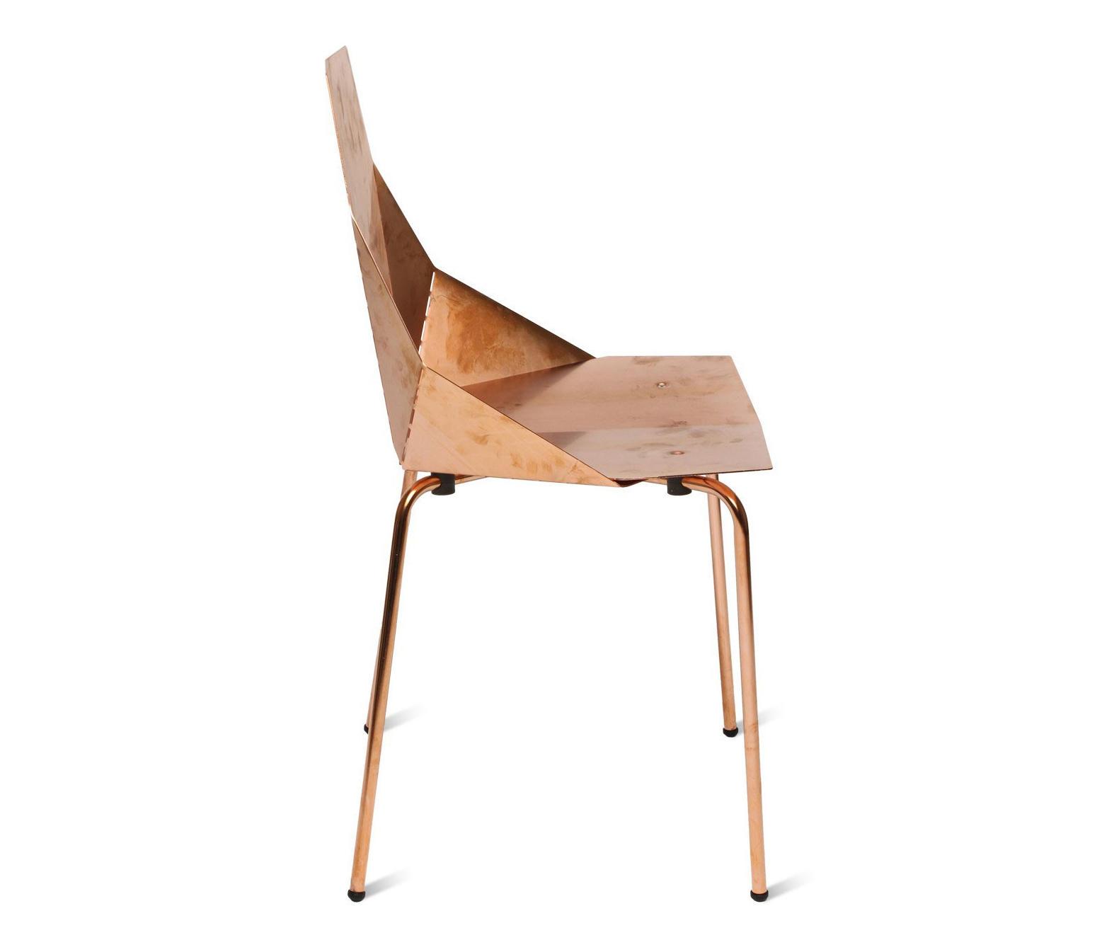 real good chair professional gaming copper restaurantstühle von blu dot