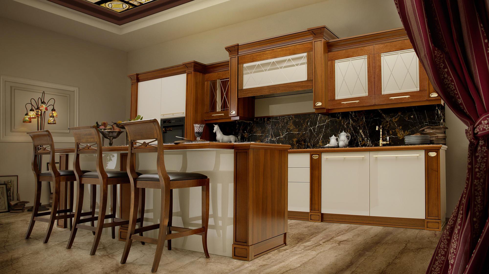 CA VENETA  Fitted kitchens from Veneta Cucine  Architonic