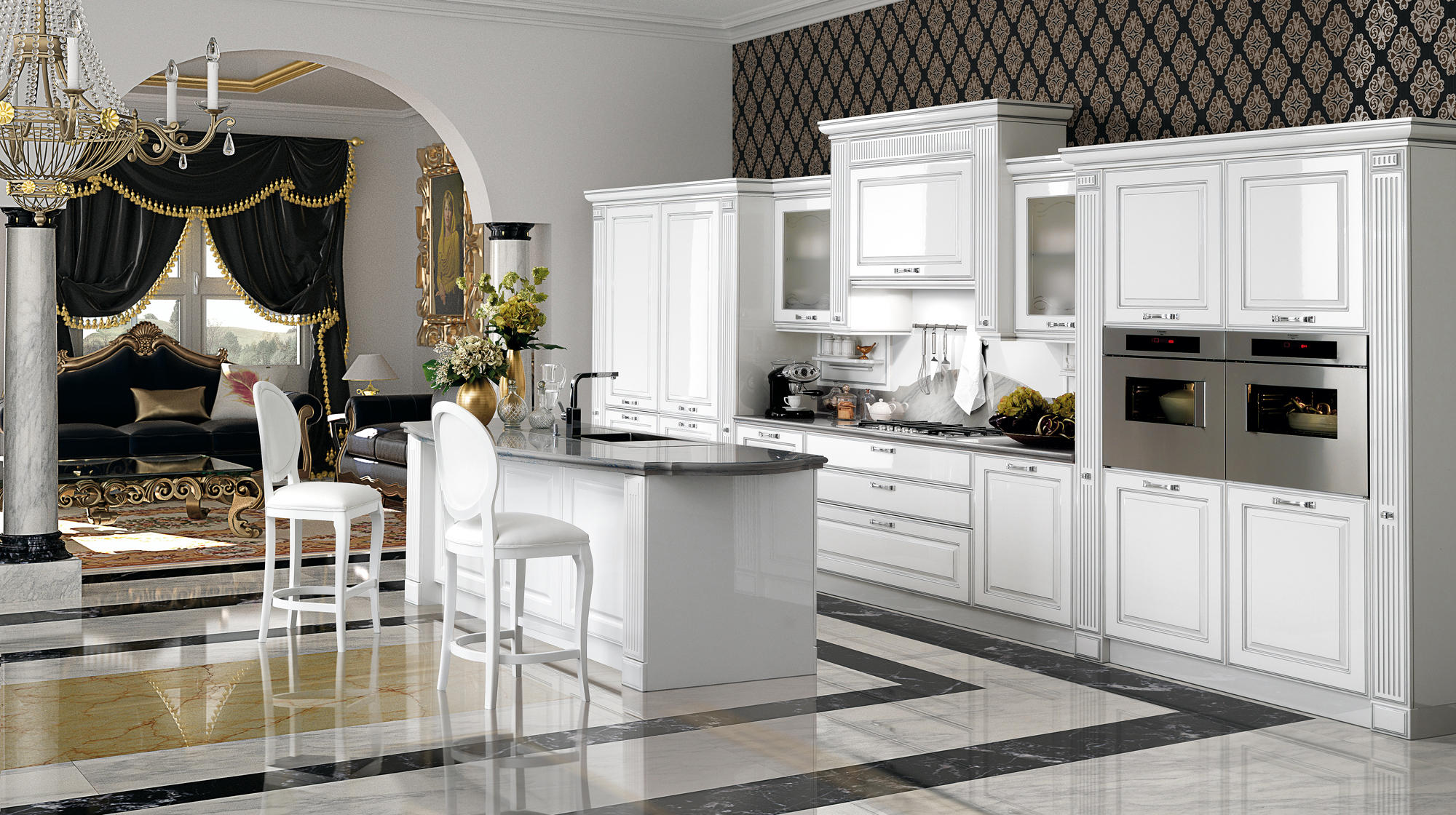MIRABEAU  Fitted kitchens from Veneta Cucine  Architonic