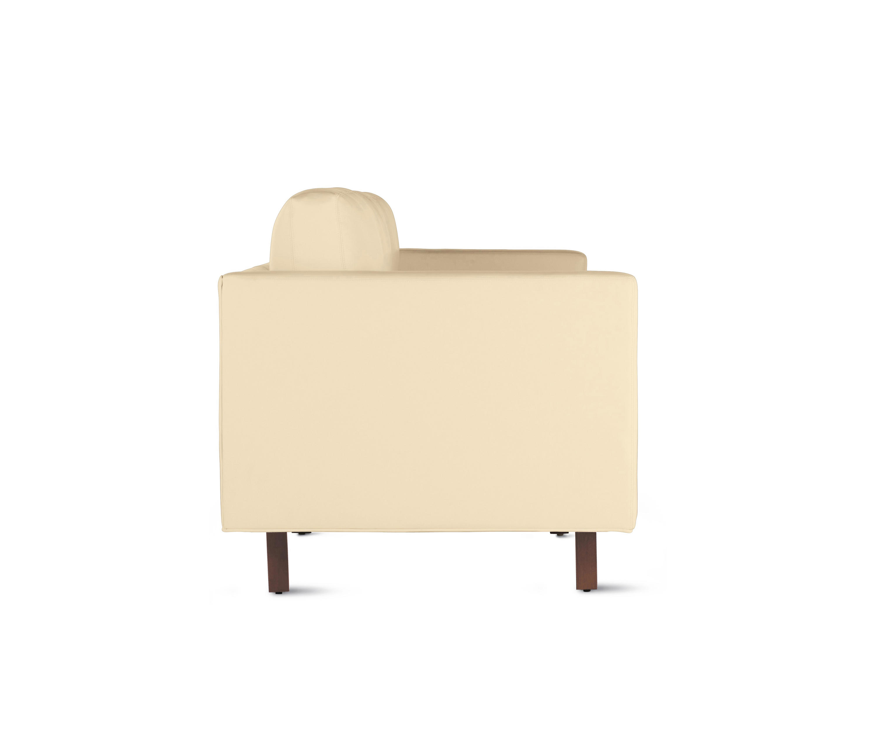 design within reach chair walnut folding ladder goodland sofa in leather legs sofas from