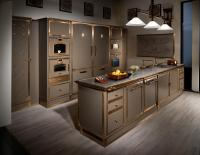 GREY BEIGE TOUCH KITCHEN - Fitted kitchens from Officine ...
