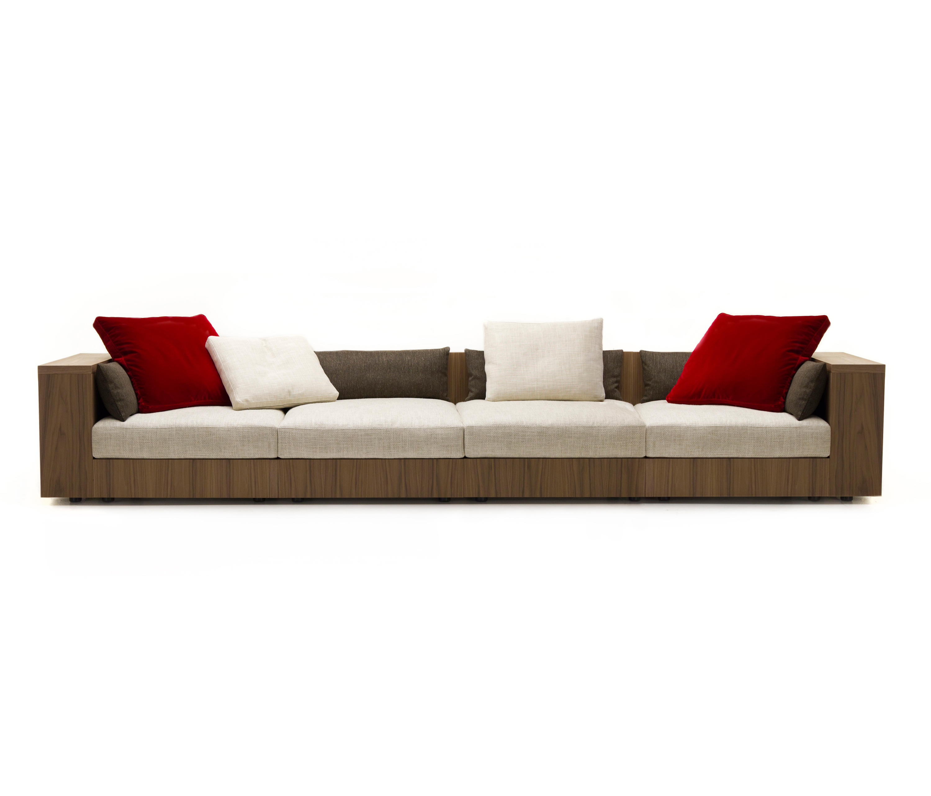 sofa 4 seater chesterfield leather pottery barn so wood lounge sofas from mussi