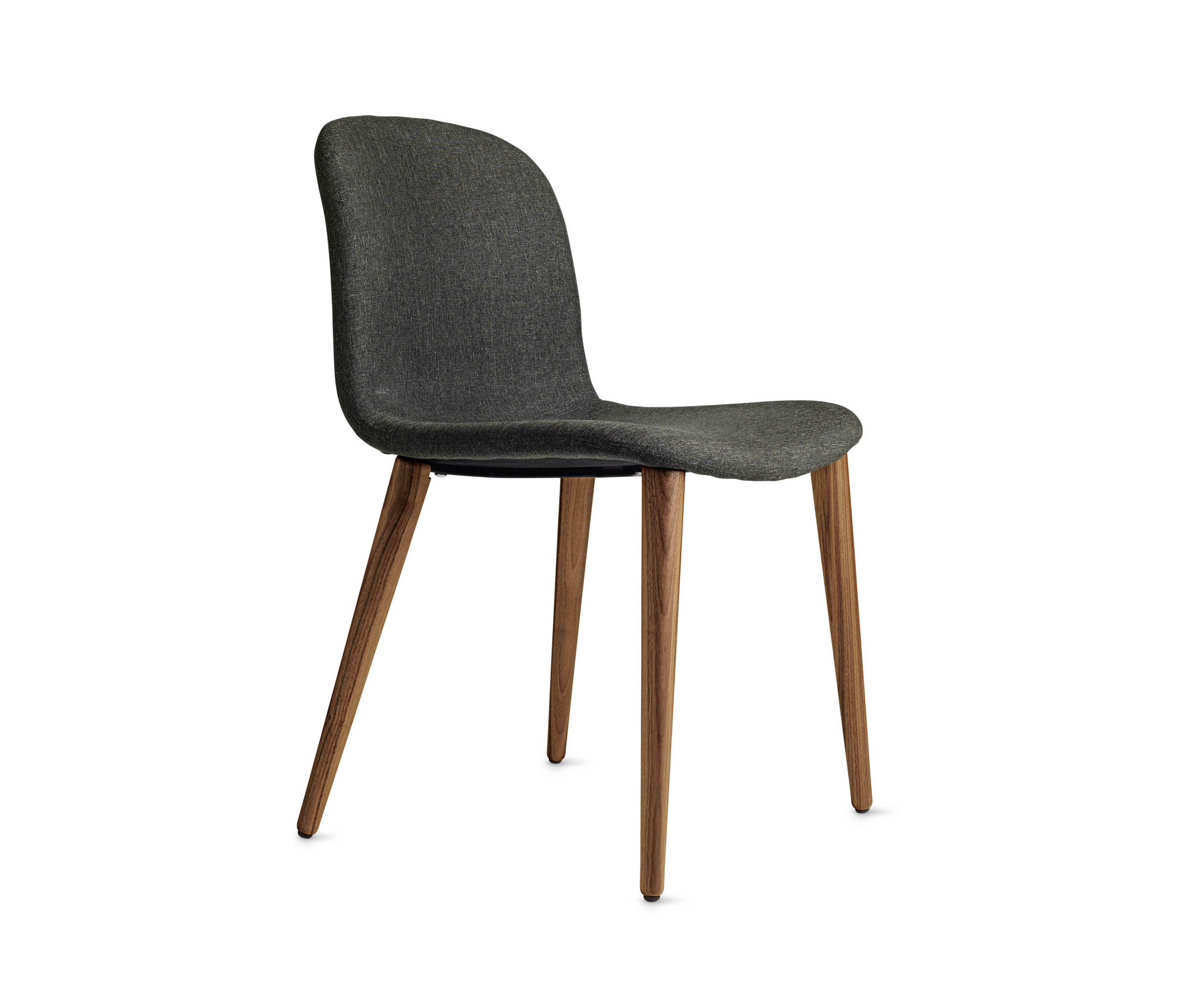 design within reach chair walnut rental tucson bacco in fabric legs visitors chairs
