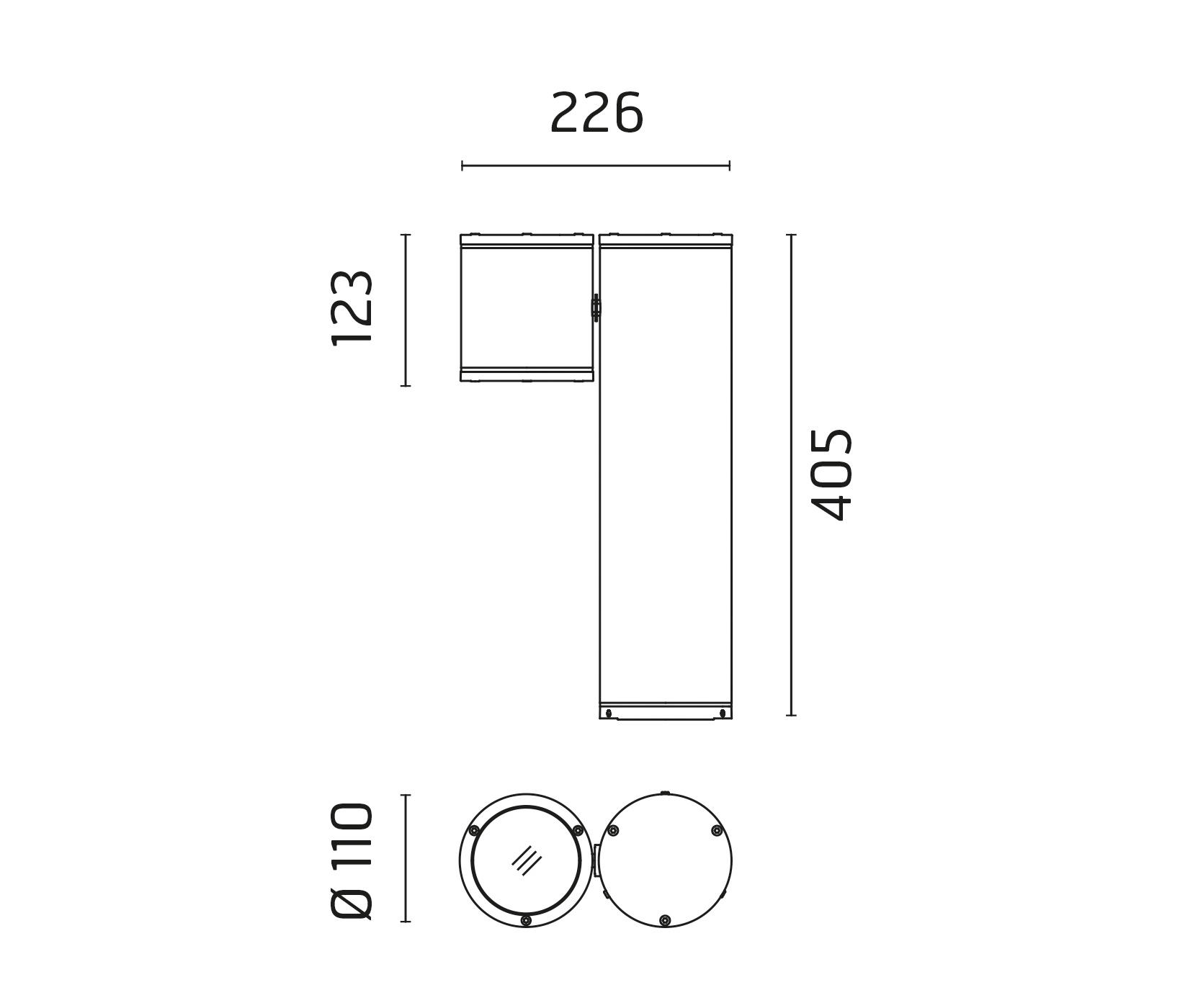wiring diagram for wall lights 6w white light double cob led switch night universal ignition pan on post adjustable medium beam 40 flood by ares
