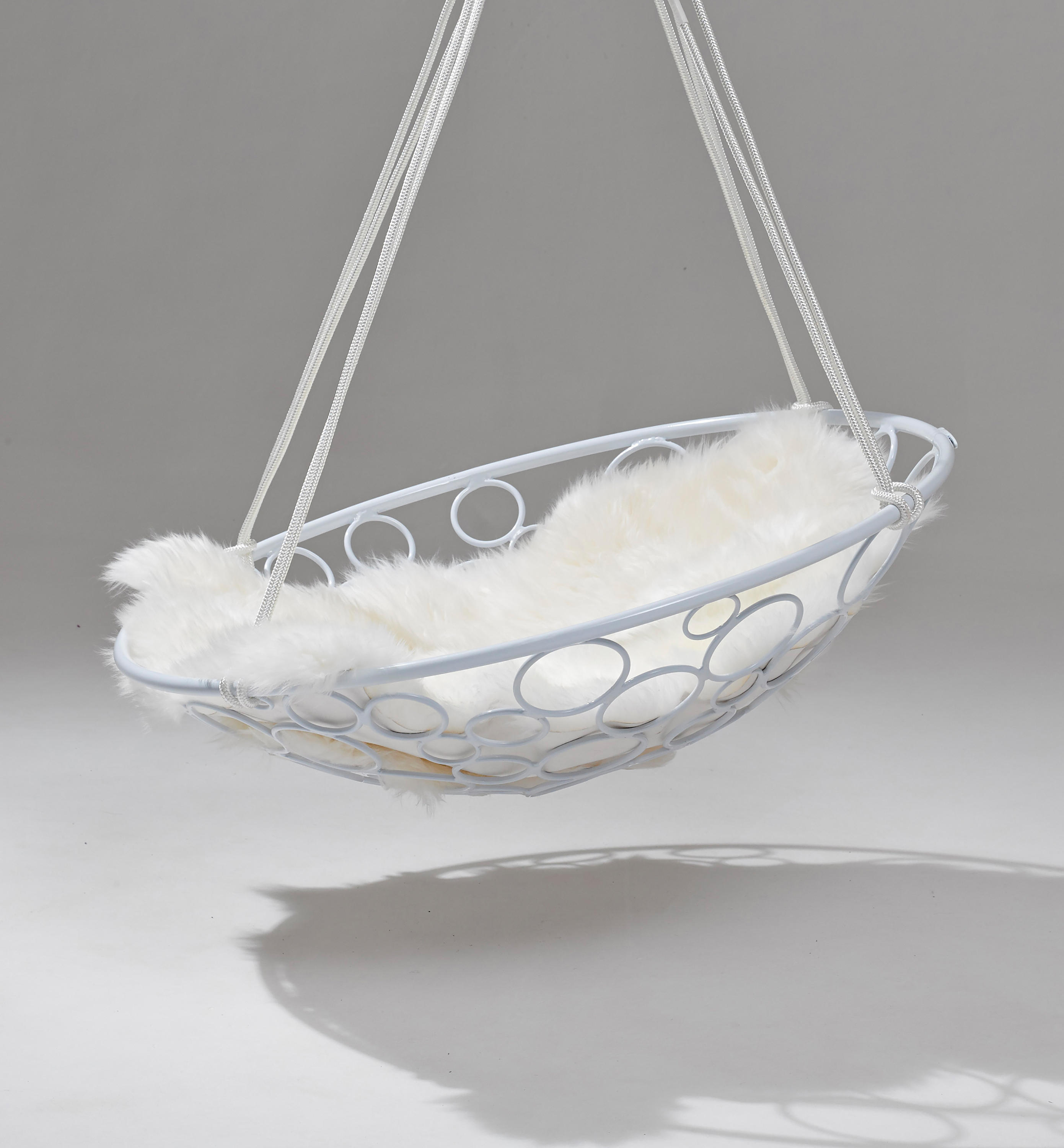 basket swing chair india spandex covers circle hanging swings from studio
