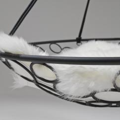 Swing Seat Johannesburg Twin Chair Bed Sheepskin Cushion Cushions From Studio Stirling