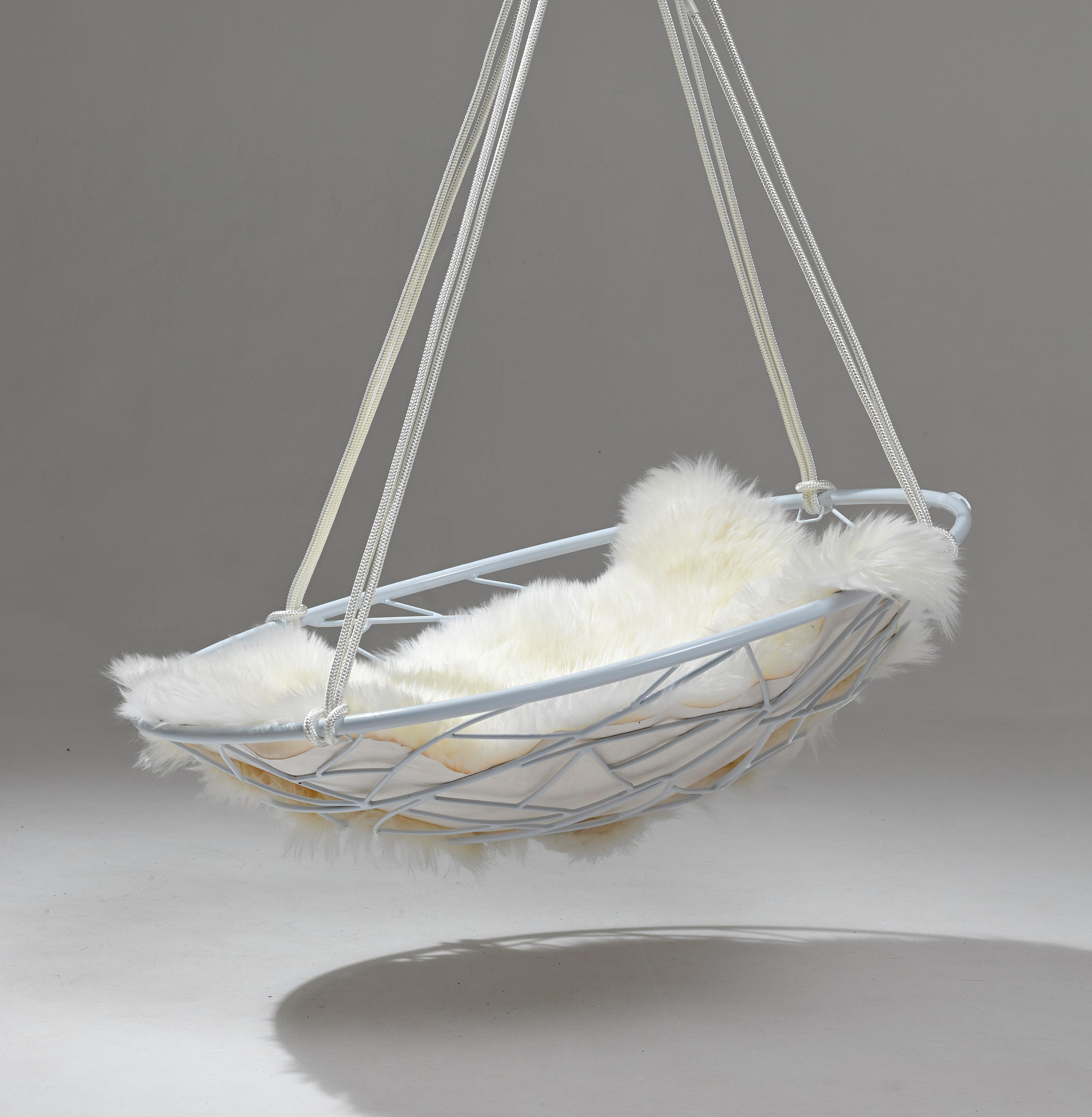 swing seat johannesburg cushions for glider chairs sheepskin cushion from studio stirling
