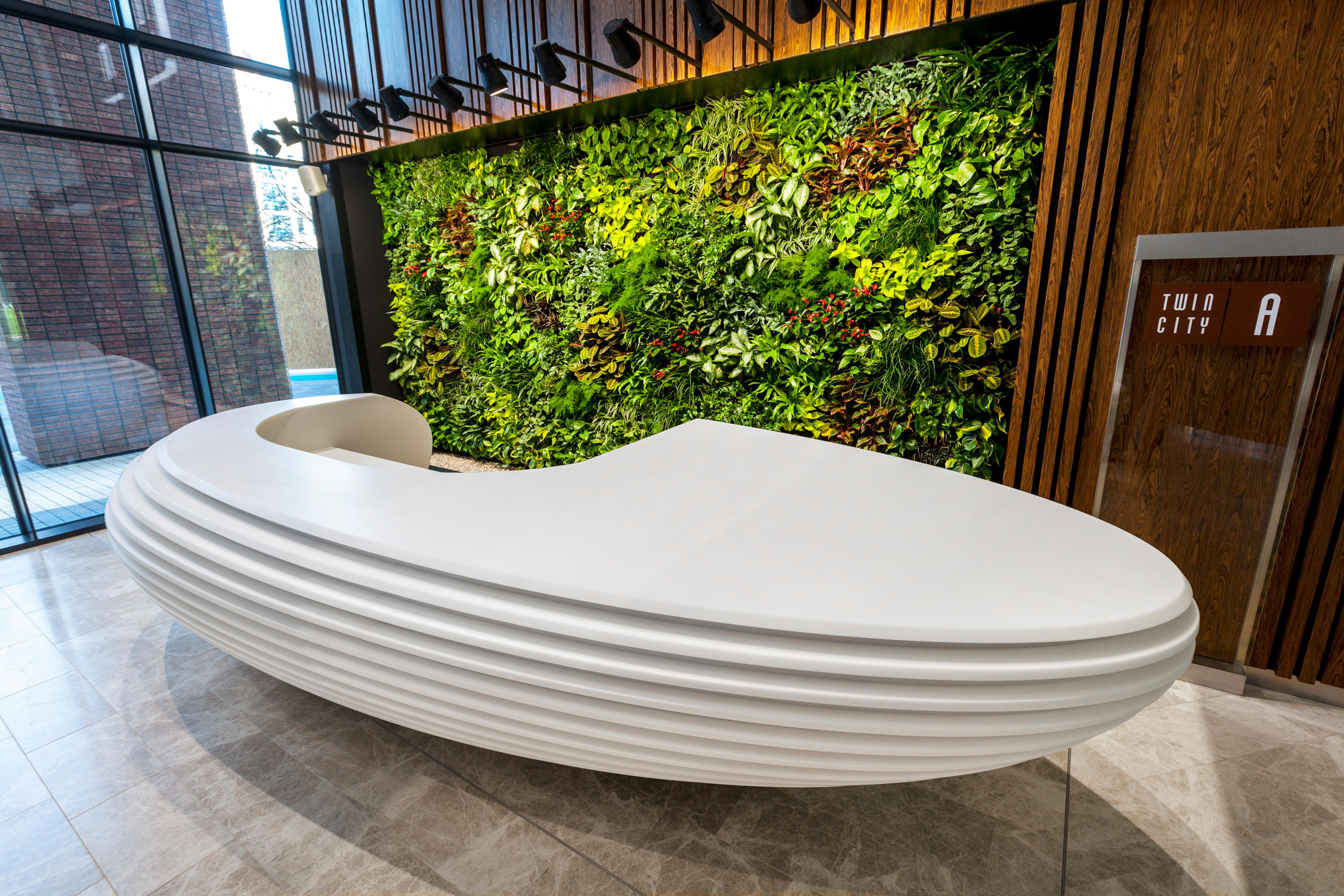 Reception Desk High Quality Designer Products Architonic