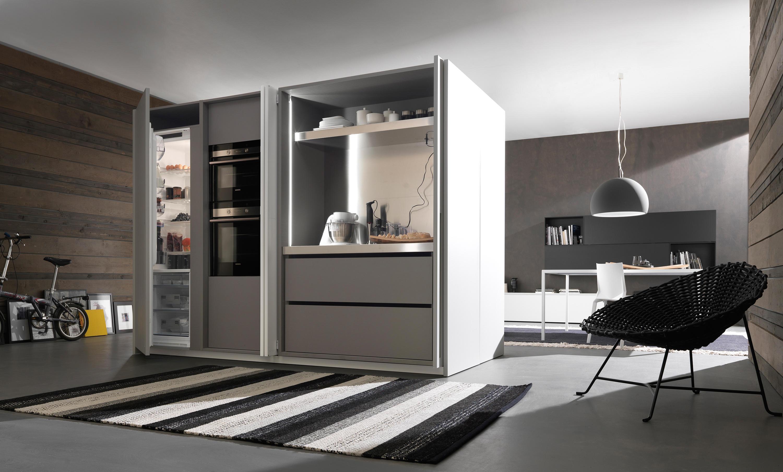 KITCHEN CLOSET 1 FLY  Compact kitchens from Modulnova
