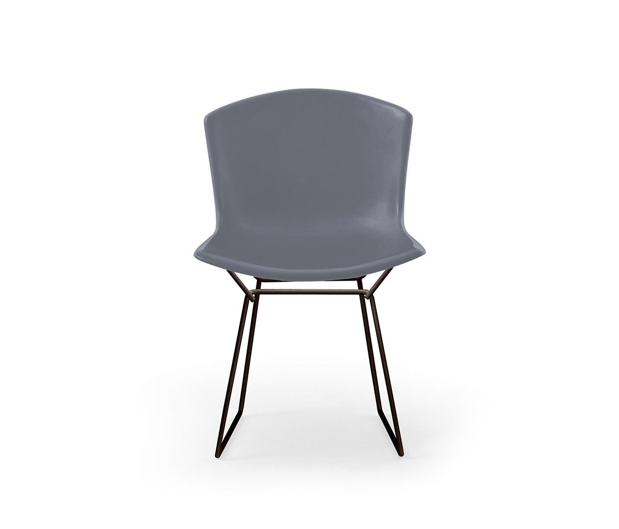 bertoia side chair plastic folding lounge outdoor garden chairs from knoll