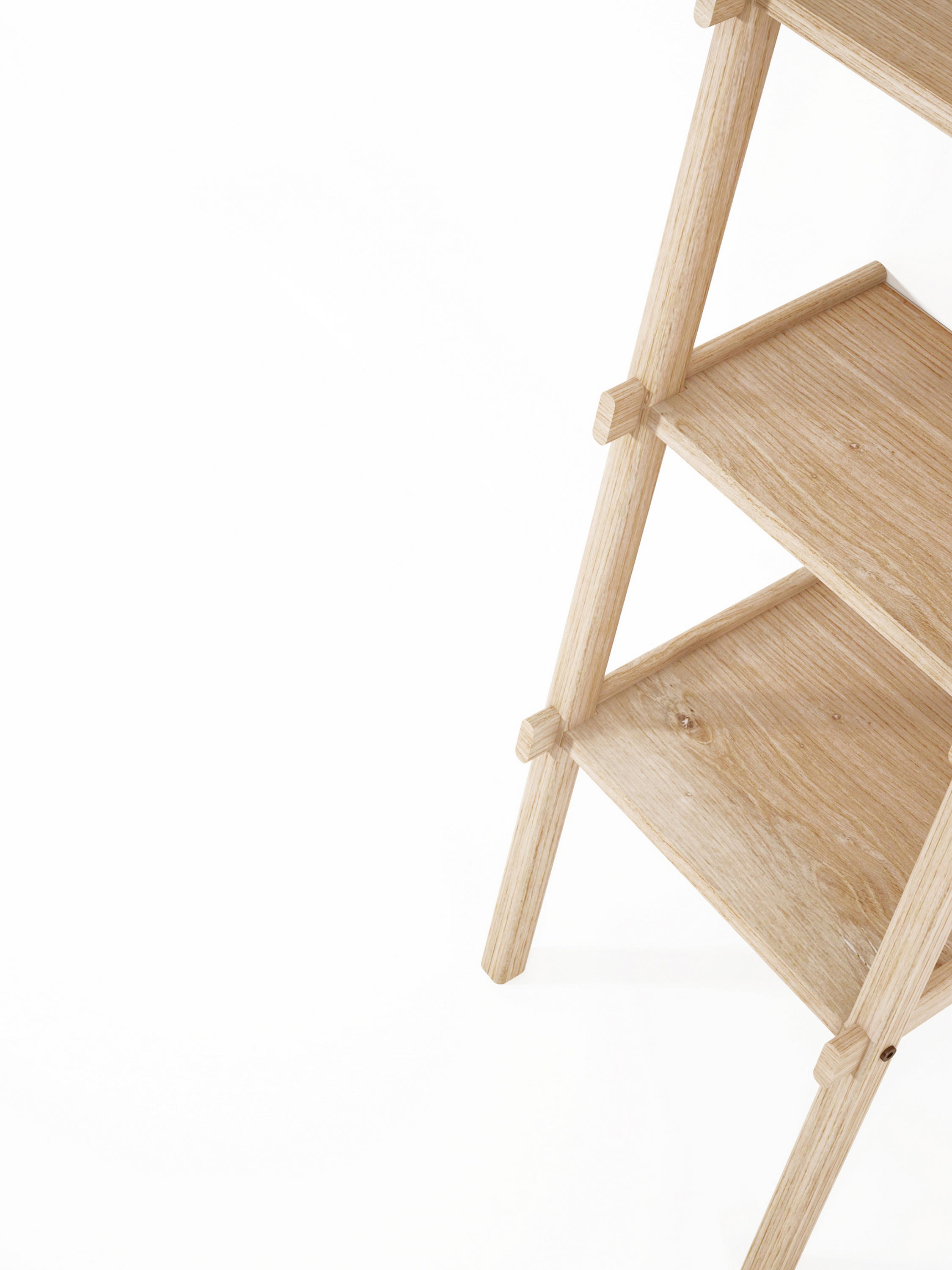 Simply City Ladder Shelves Architonic