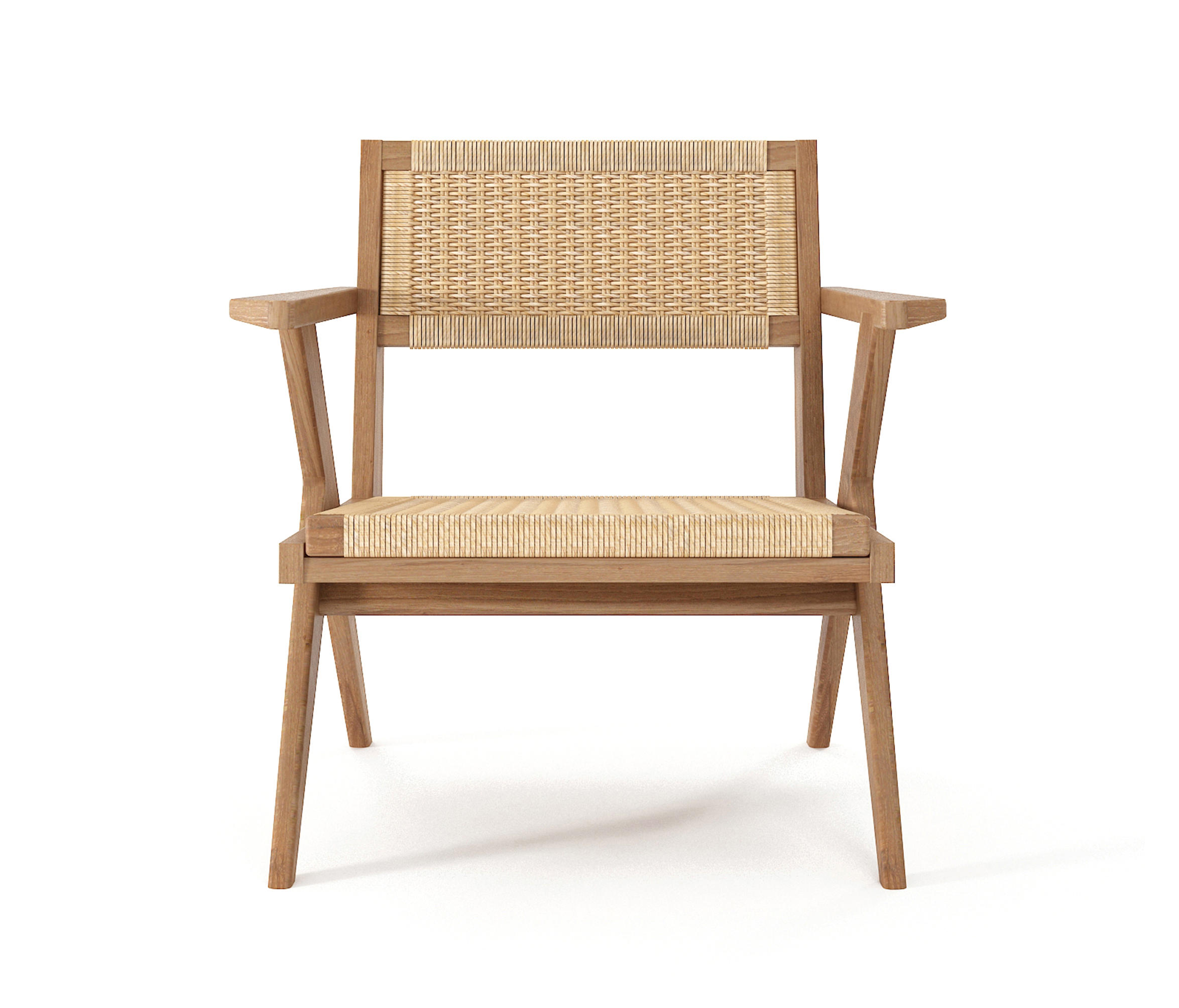 Danish Chair Tribute Easy Chair With Woven Danish Paper Cord Armchairs From