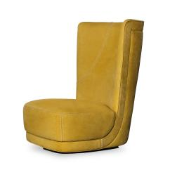 Revolving Lounge Chair Ergonomic Kenya Etienne BergÈre Armchair Chairs From