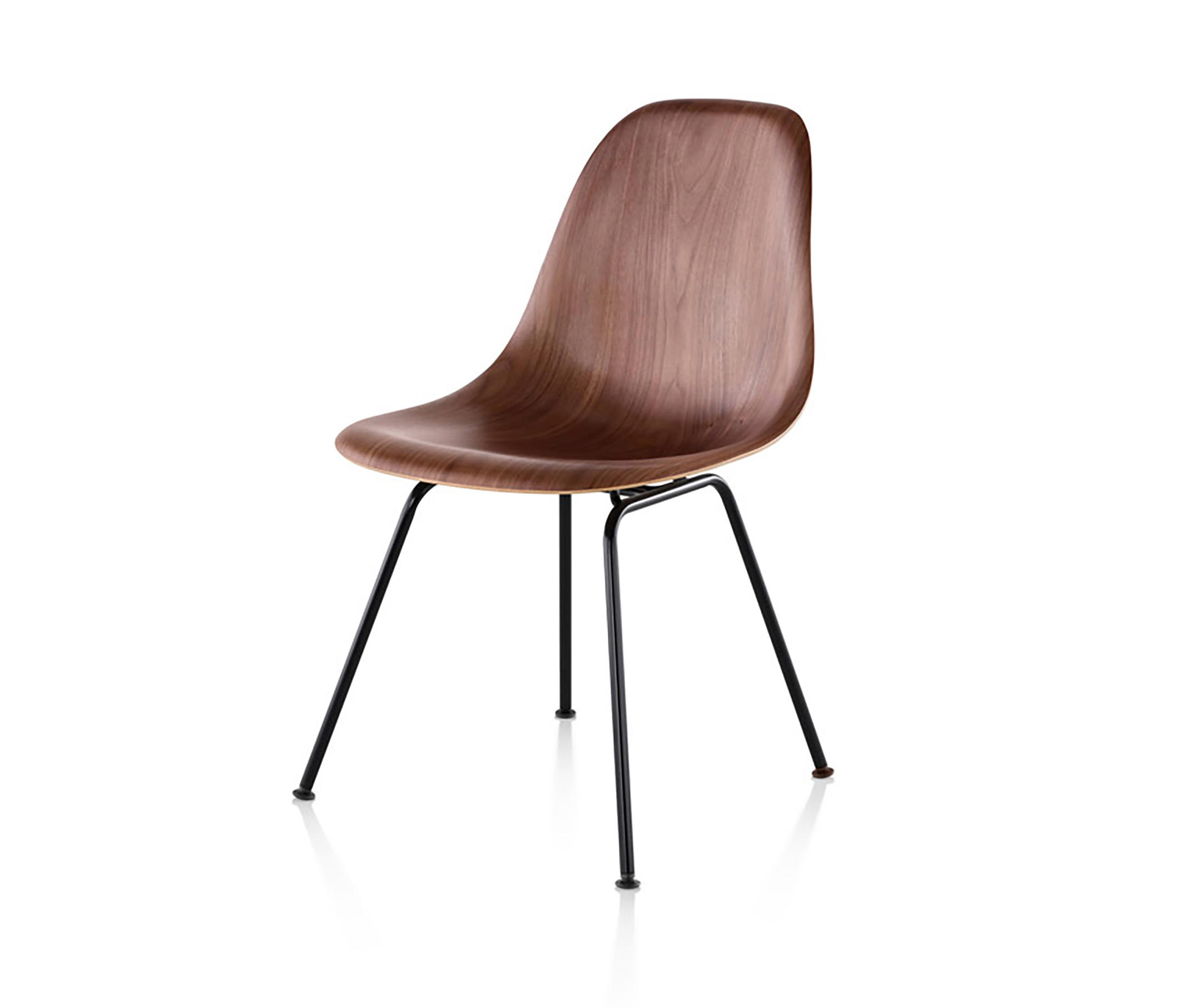 eames wood chair paint fabric molded side chairs from herman miller