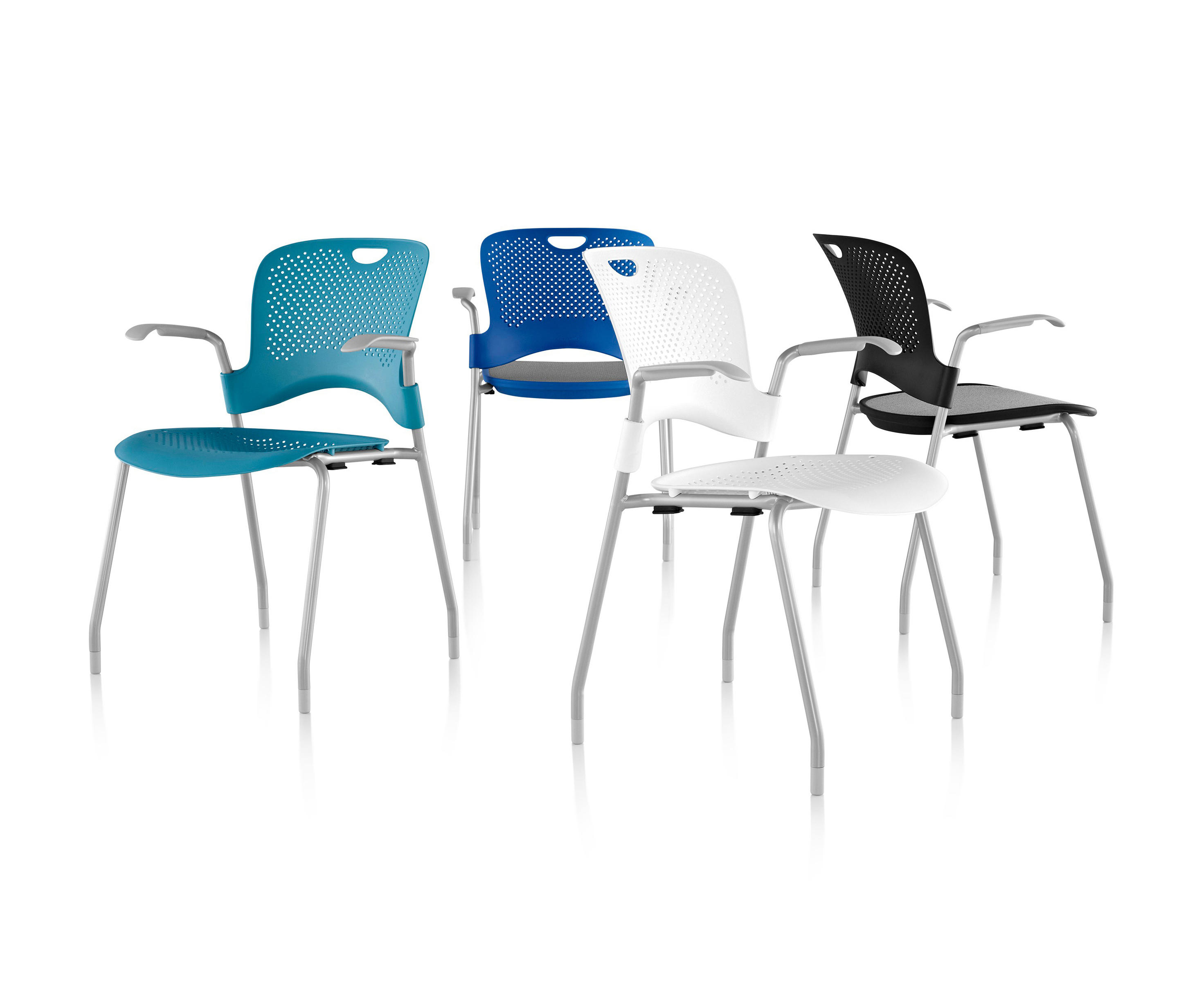 herman miller stacking chairs navy parsons chair caper from architonic by