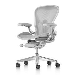 White Aeron Chair Chairs For Dining Table Designs Office From Herman Miller Architonic By