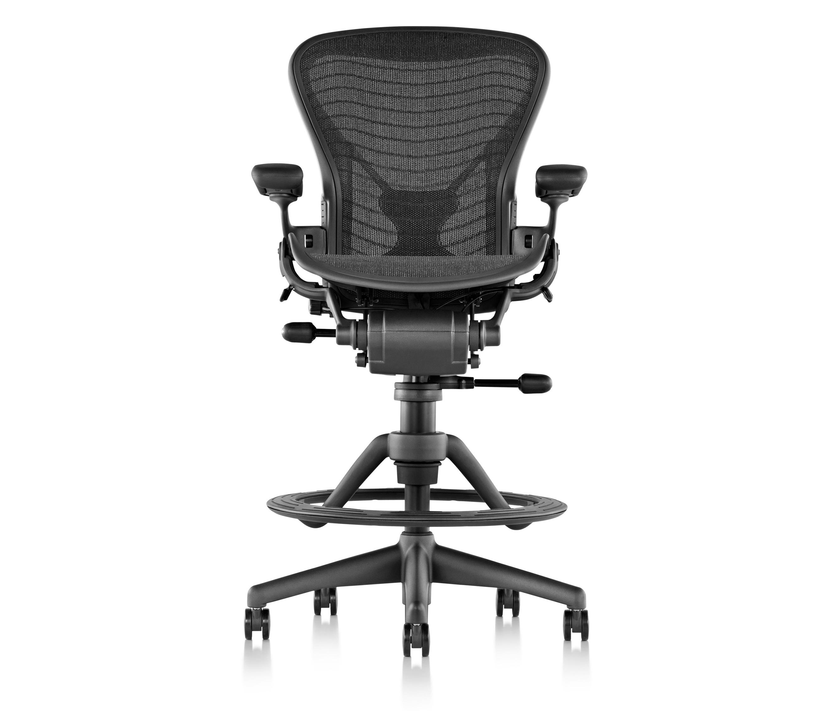 AERON STOOL  Counter stools from Herman Miller  Architonic