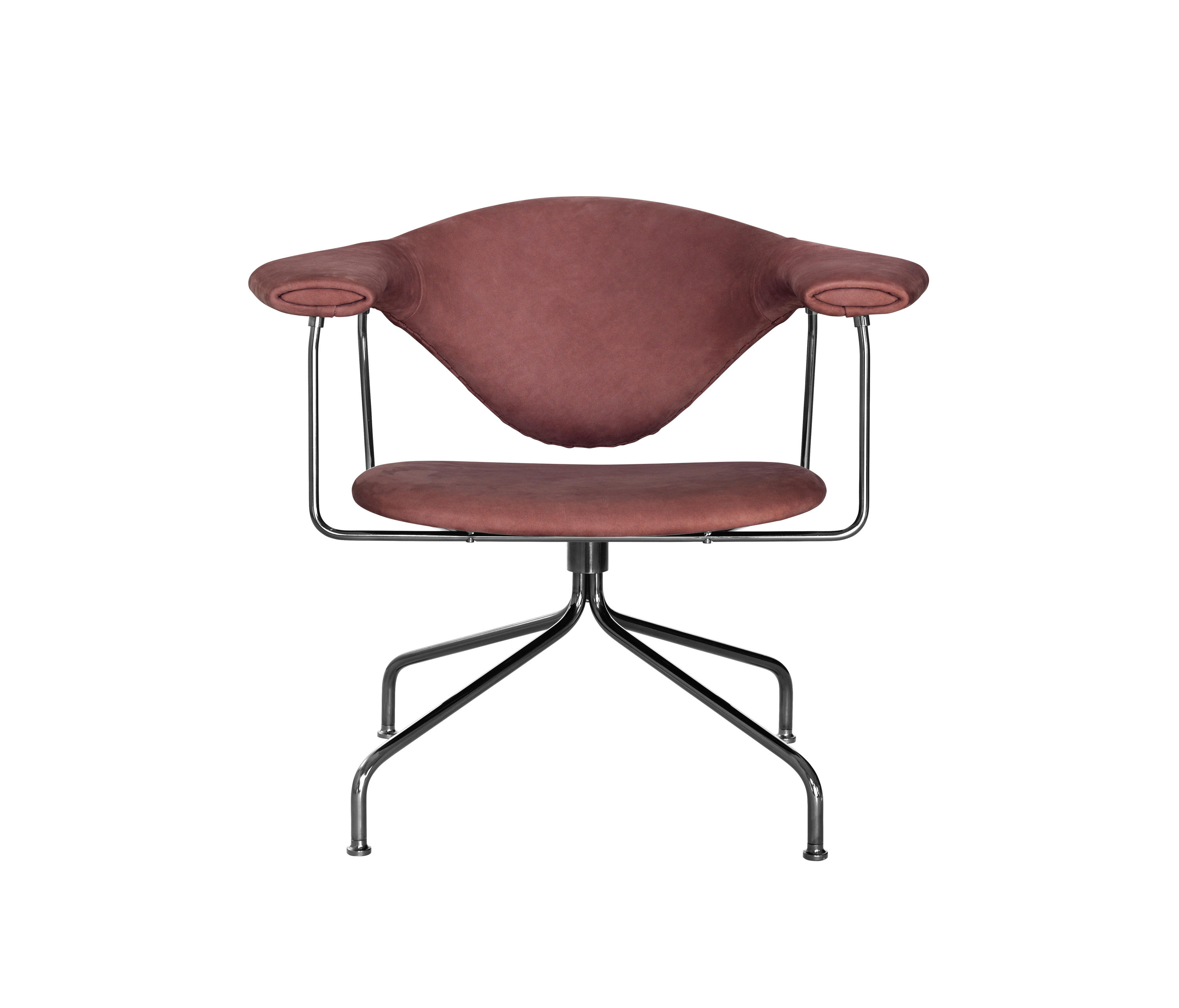 swivel lounge chairs black chair covers ebay masculo from gubi