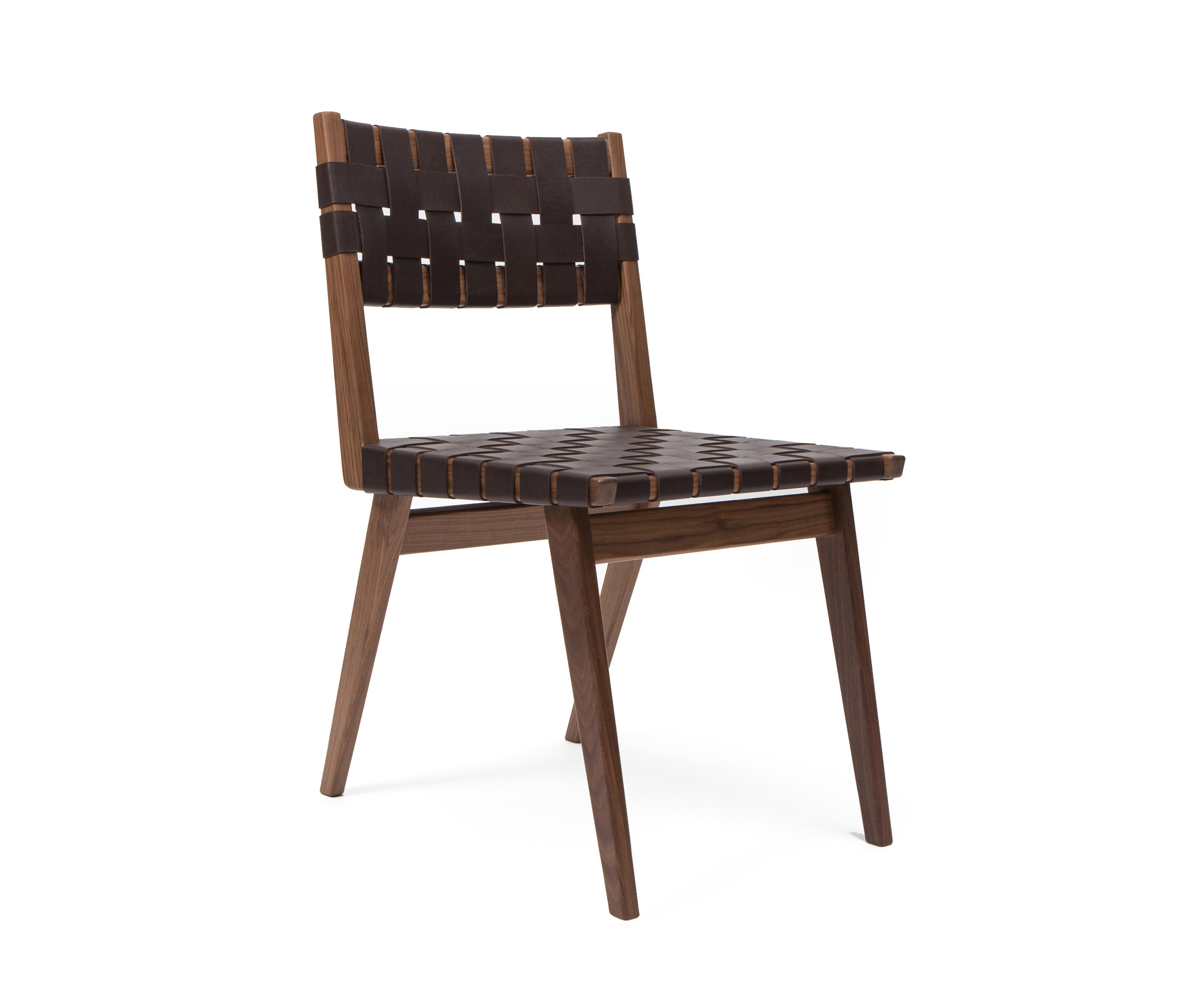 Woven Leather Chair Woven Leather Dining Chair Restaurant Chairs From Smilow