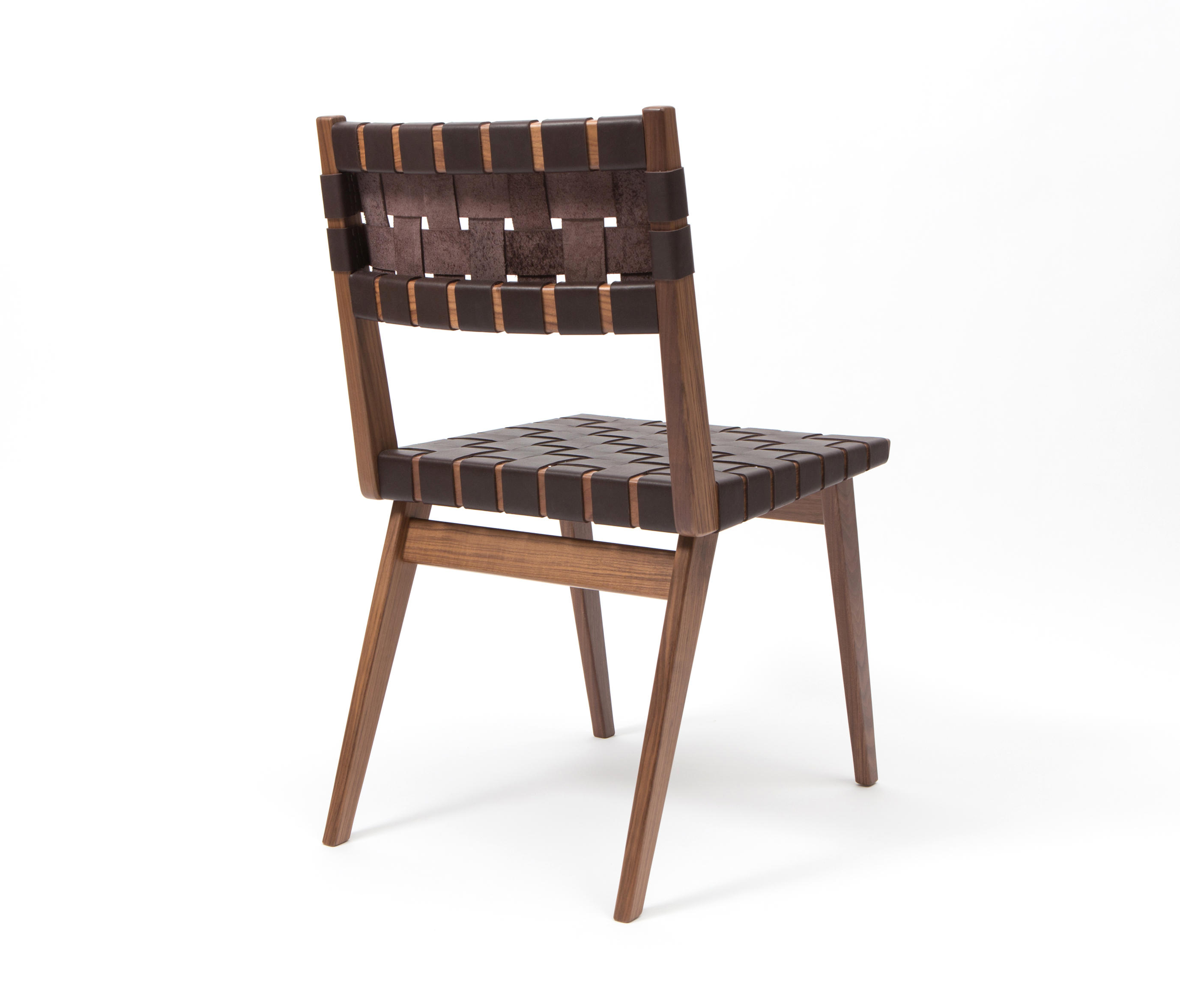 woven dining chair evolution ball leather restaurant chairs from smilow