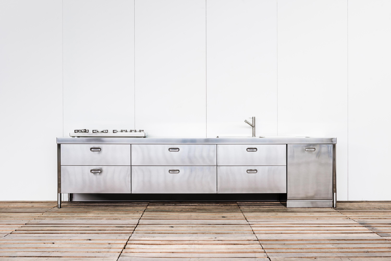 CUSTOM MADE KITCHENS Compact kitchens from ALPESINOX