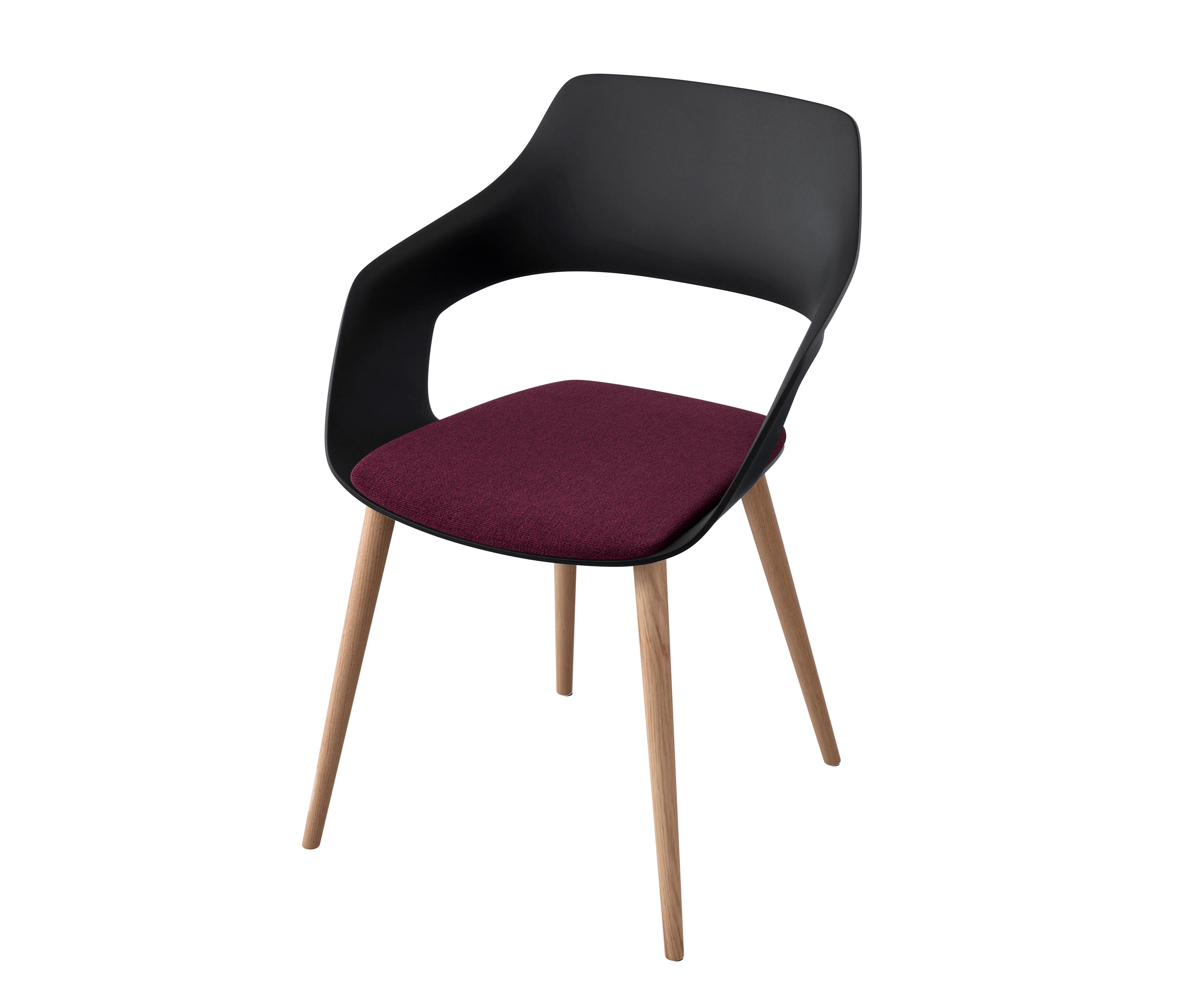 jehs laub lounge chair folding aluminum chairs occo - visitors / side from wilkhahn | architonic