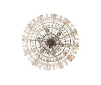 GILDED CAGE LARGE ROUND CHANDELIER - Ceiling suspended ...