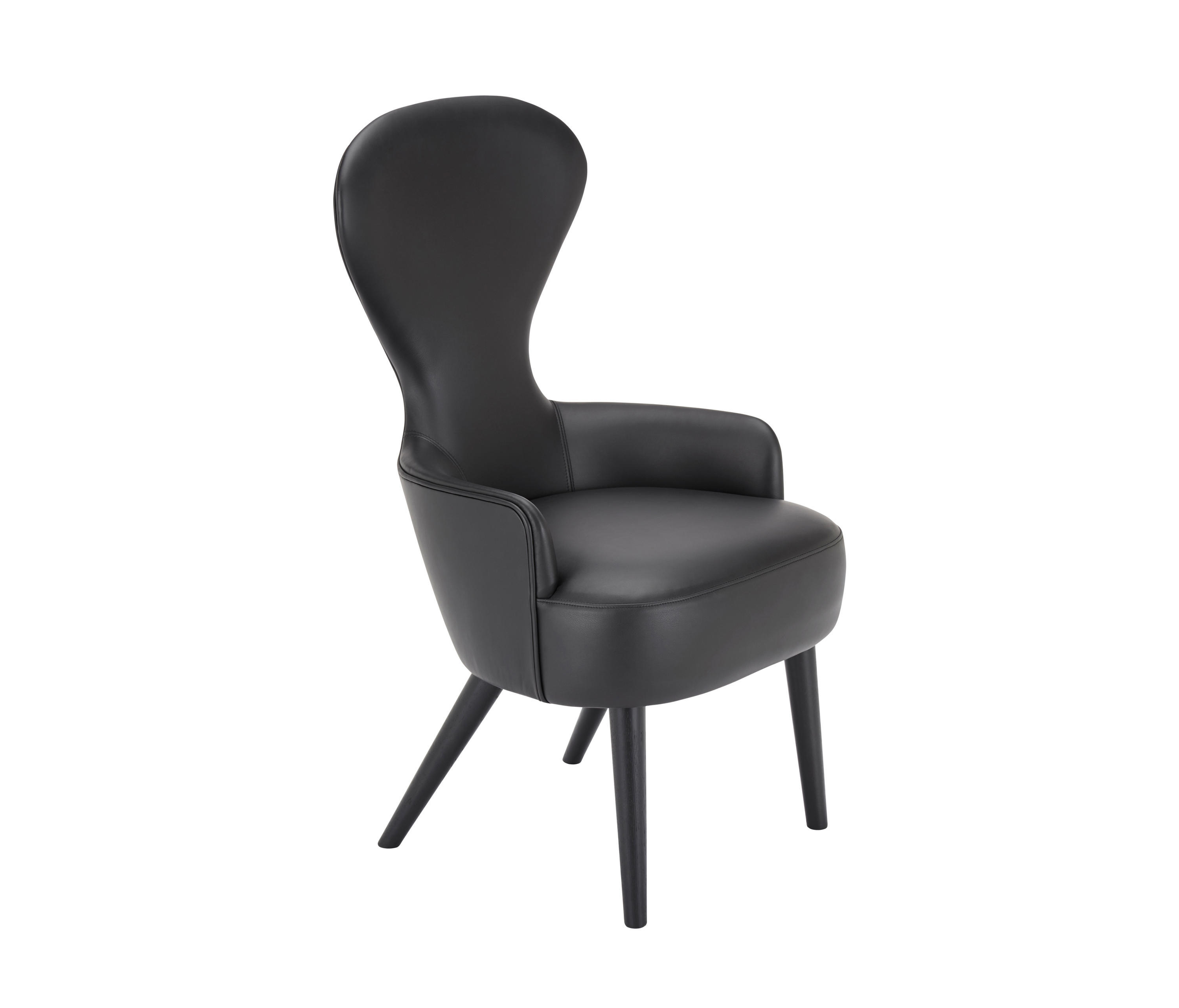 Wingback Dining Chairs Wingback Dining Chair Black Leg Elmosoft Leather