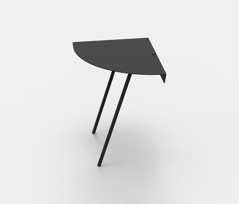 untitled table half circle architonic