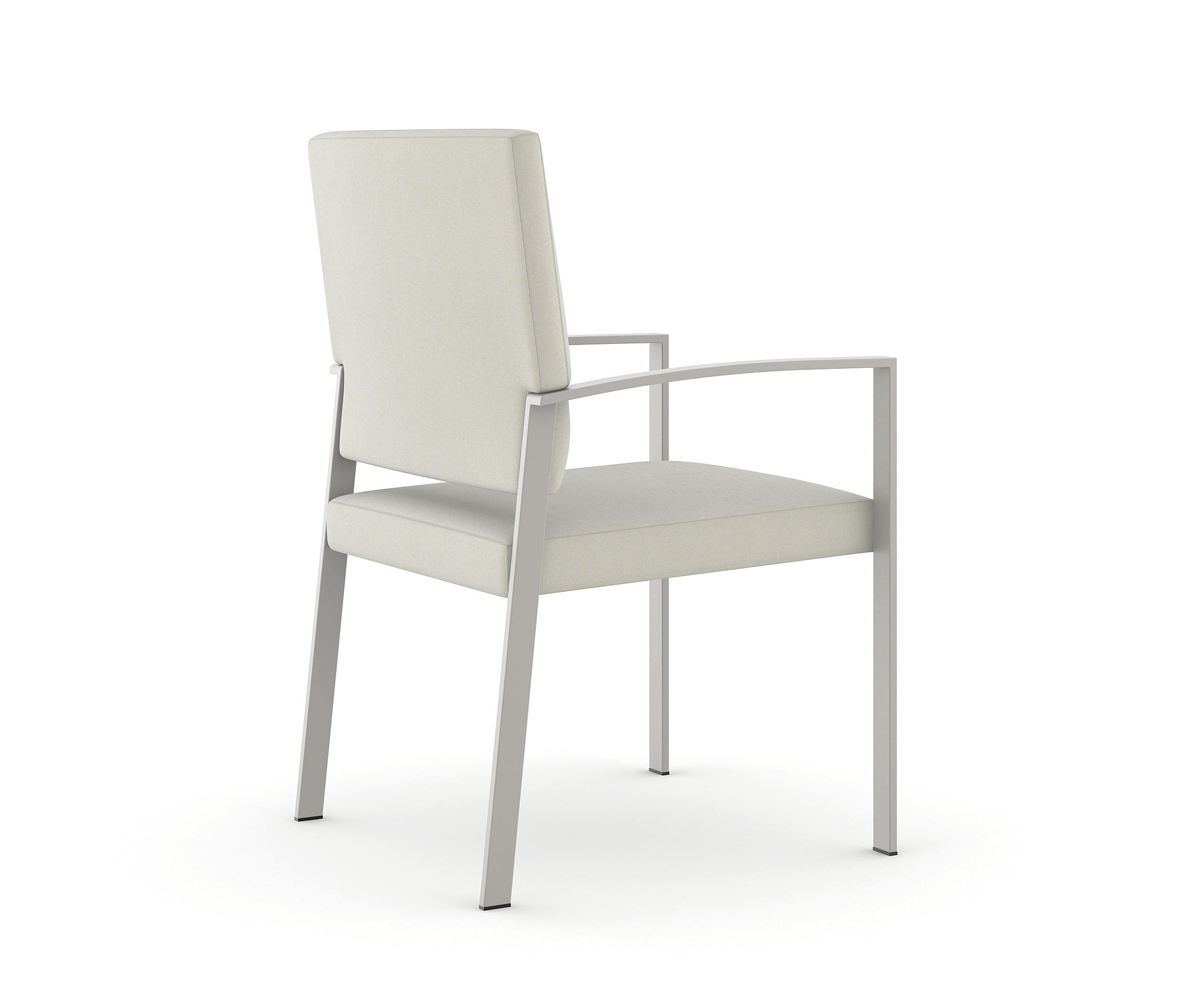 high seat chairs elderly leeds lightweight camp steel back side chair powder coated frame