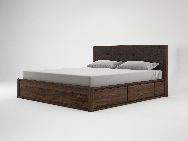 Circa17 King Size Bed Fabric Headboard
