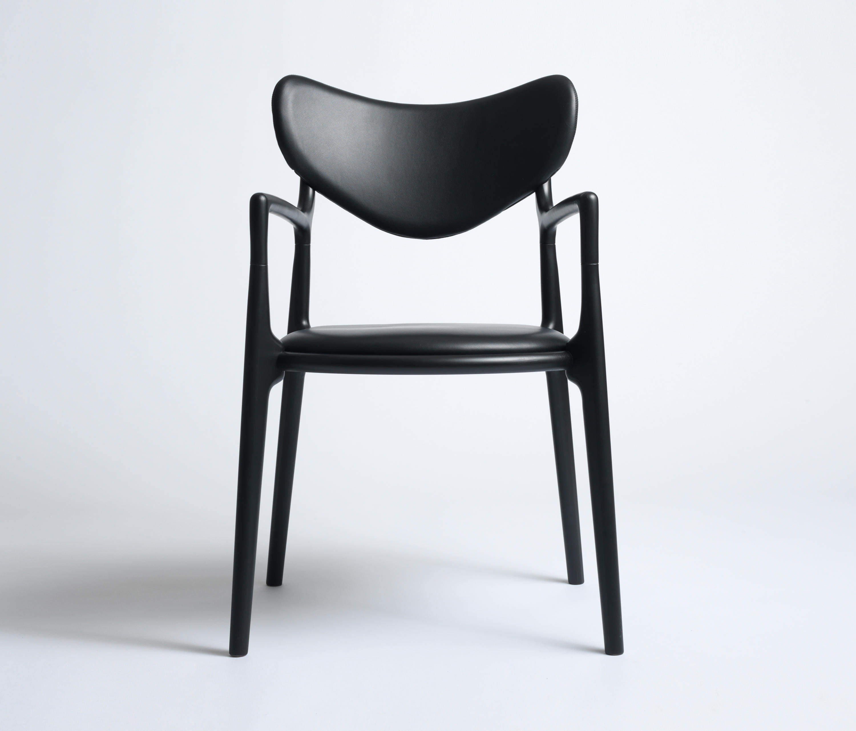 black salon chairs wicker dining and table chair beech from true north designs architonic by