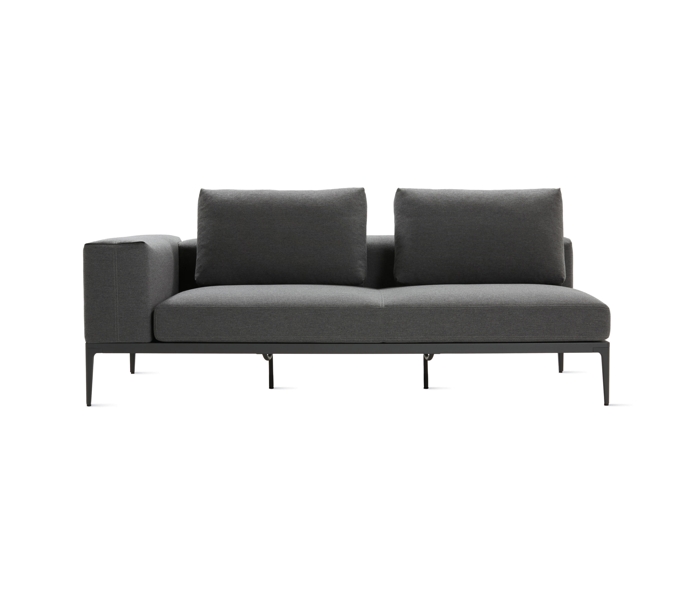 one arm sofa mid century sofas nz grid garden from design within reach