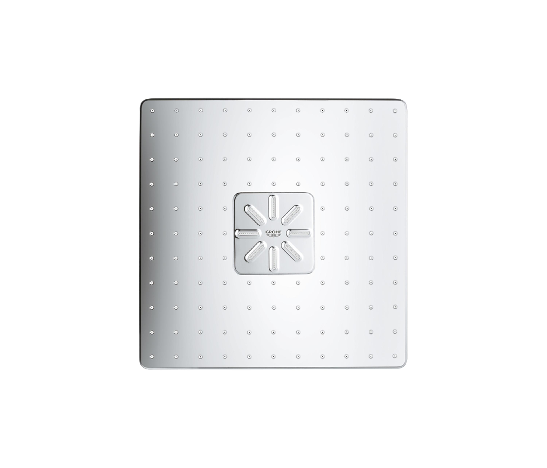RAINSHOWER 310 SMARTACTIVE CUBE HEAD SHOWER SET 430 MM 2 SPRAYS  Shower controls from GROHE