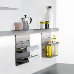 Kitchen Rail System Used Cabinets For Sale By Owner Linero Mosaiq Organization From Peka