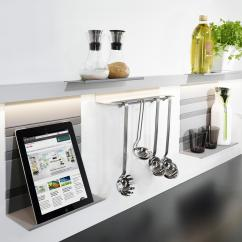 Kitchen Rail System Refrigerators For Small Kitchens Linero Mosaiq Organization From Peka By