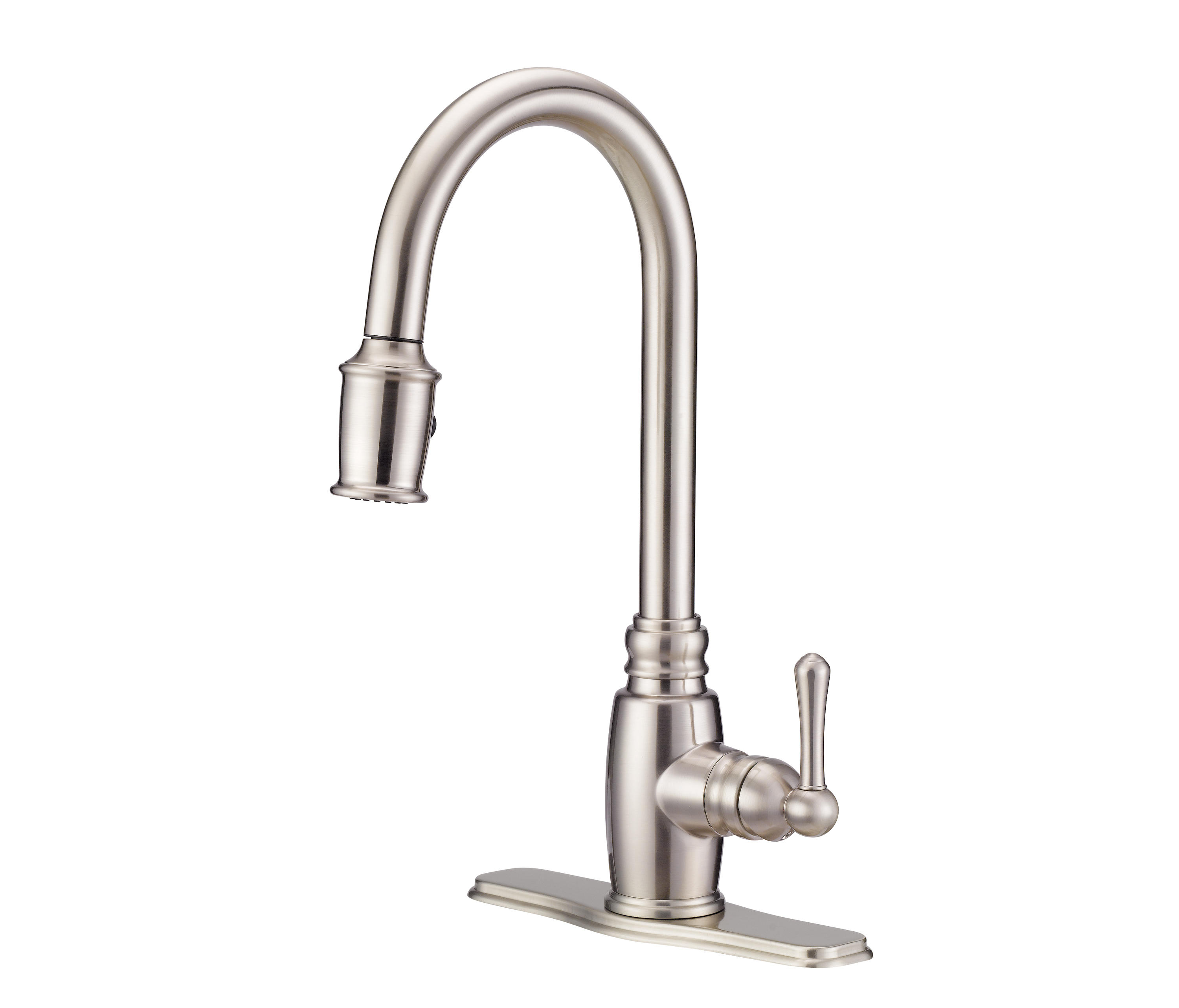danze opulence kitchen faucet valance for window pull down taps from by