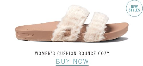 WOMEN'S CUSHION BOUNCE COZY
