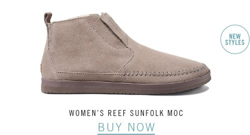 WOMEN'S REEF SUNFOLK MOC
