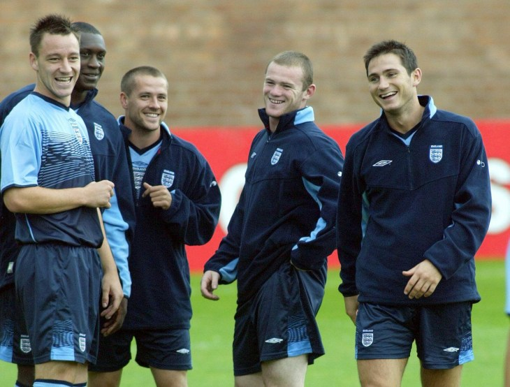 Lampard and Terry also formed a close bond through their time with England, part of the so-called 'Golden Generation' (Gareth Copley/PA)