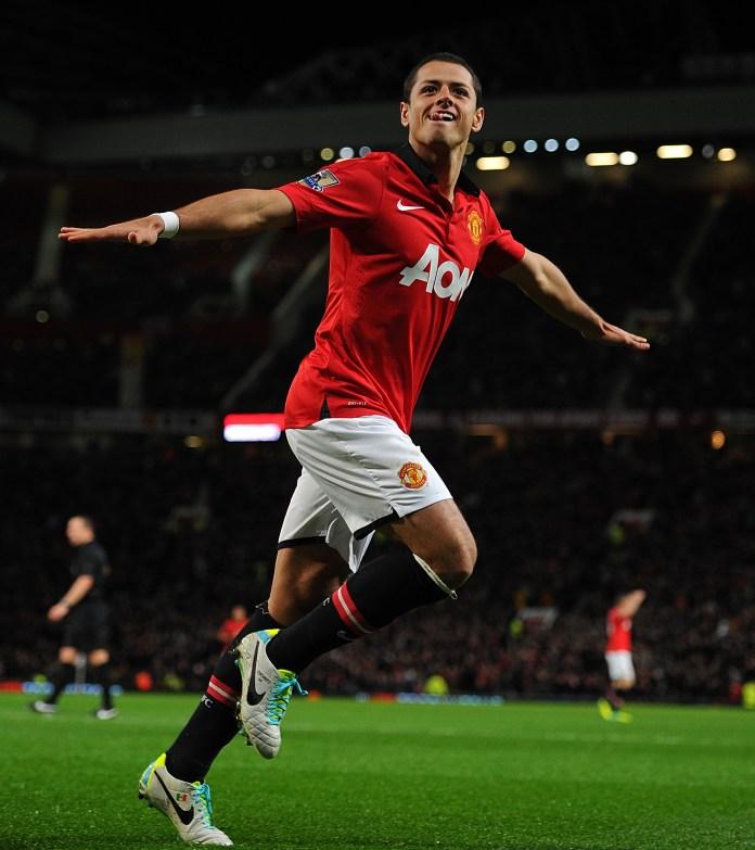 Manchester United's Javier Hernandez scored a late winner against Stoke