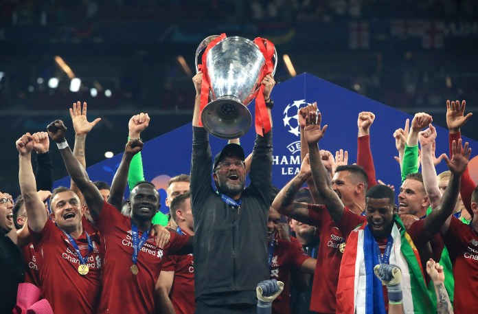 Klopp is keen for Liverpool to continue their love affair with the Champions League