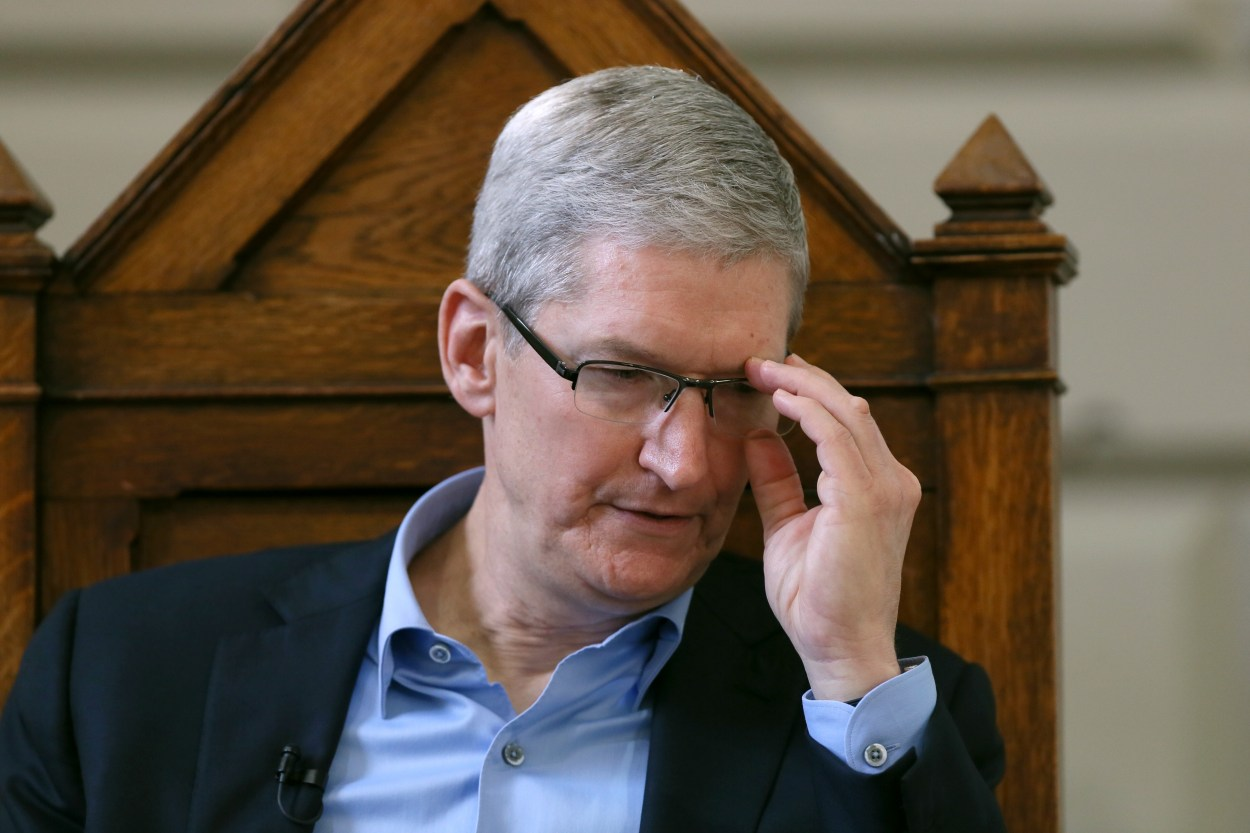 Apple chief executive