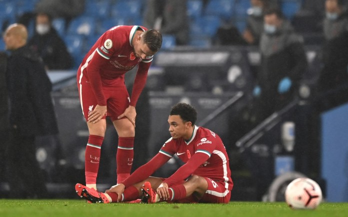 Liverpool's Trent Alexander-Arnold has been ruled out of England duty