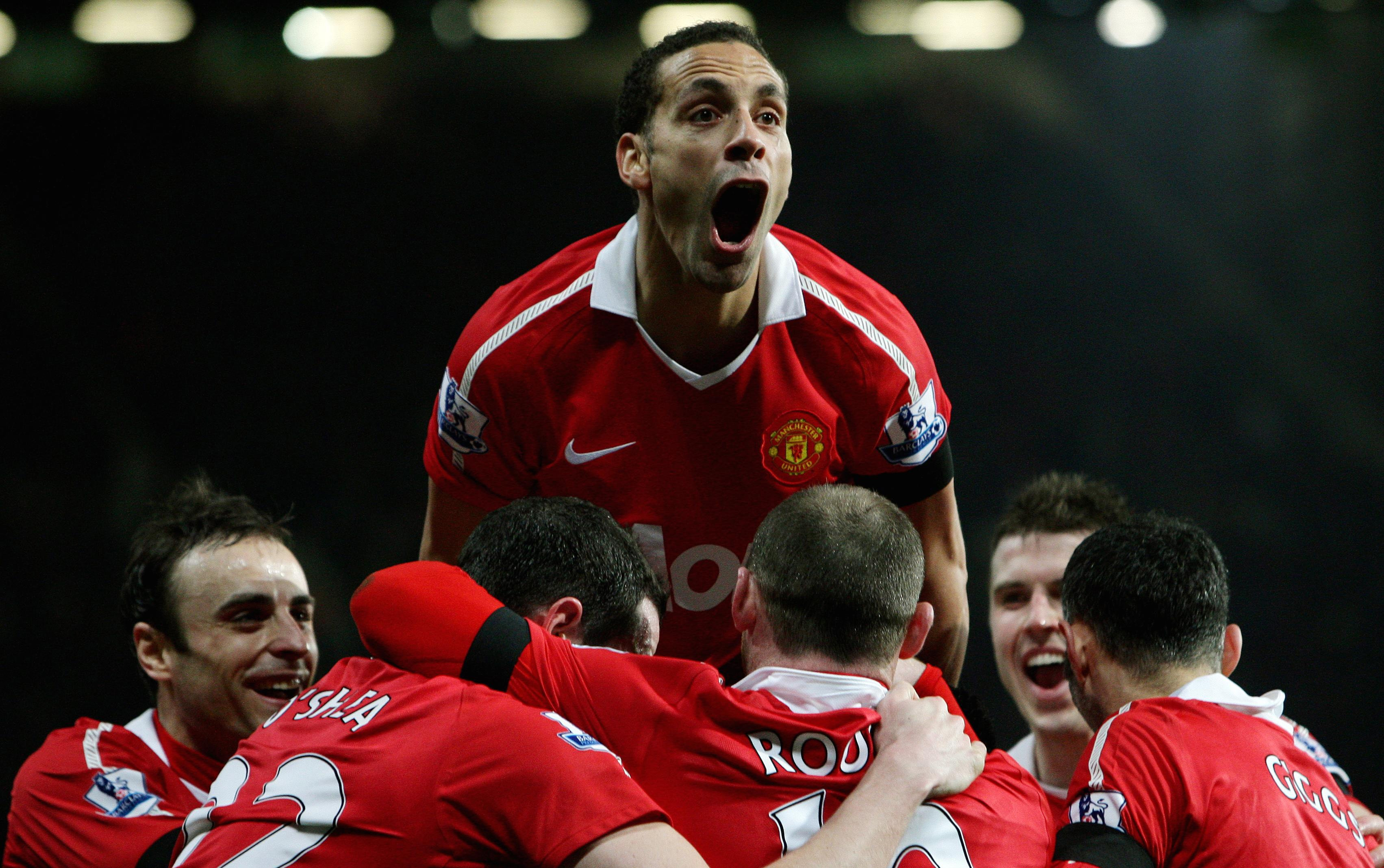 Rio Ferdinand spent 12 years as a player at Manchester United